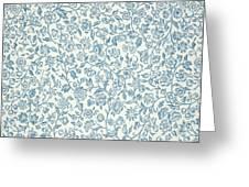 Merton Wallpaper Design Greeting Card