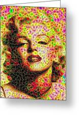 Marilyn - Colored Diamonds Greeting Card