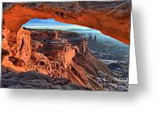 Mesa Arch Frame Greeting Card