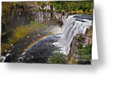 Mesa Falls Greeting Card