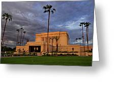 Mesa Lds Temple Greeting Card
