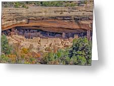Mesa Verde Cliff Dwelling Greeting Card