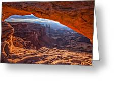 Mesa's View Greeting Card by Darren  White