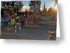 Mesilla Nm Cemetery 14  Greeting Card