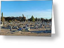Mesilla Nm Cemetery 3   Greeting Card