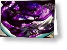 Mesmerize Purple II Greeting Card