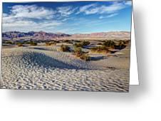 Mesquite Flat Dunes Greeting Card