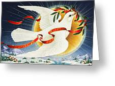 Messenger Of Peace Greeting Card