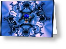 Messing With Mandelbrot  Greeting Card
