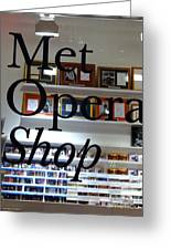 Met Opera Shop Greeting Card