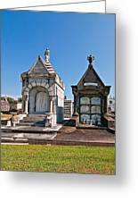 Metairie Cemetery 4 Greeting Card