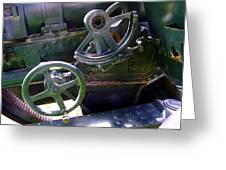 Antique Canon Mechanisms Greeting Card
