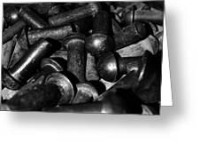 Metal Pins Greeting Card