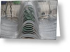 Metal Strips Greeting Card