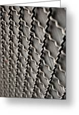 Metal Texture Forms Greeting Card