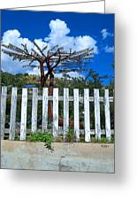 Metal Art Tree Bisbee Greeting Card