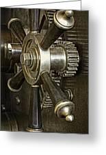 Metals Bank Door Greeting Card