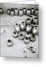 The Craftsman In Jodhpur Greeting Card