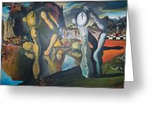Metamophosis Of Narcissus Greeting Card