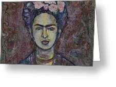 Metamorphosis Frida Greeting Card
