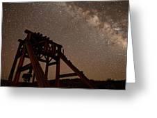 Meteor At Bodie Greeting Card