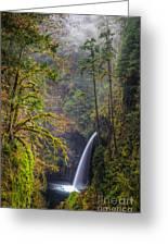 Metlako Falls Oregon Greeting Card
