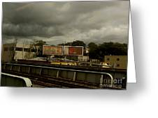 Metropolitan Transit Greeting Card