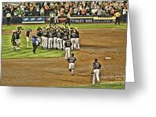 Mets Take Nl 2006 Greeting Card
