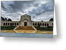 Meuse-argonne Tribute Greeting Card