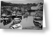 Mevagissey Cornwall Greeting Card