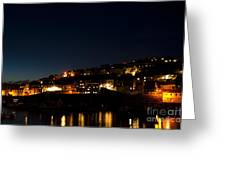 Mevagissy Nights Greeting Card