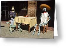 Mexican Antique Family Greeting Card