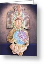 Mexican Clay Artwork Greeting Card