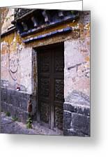 Mexican Door 34 Greeting Card