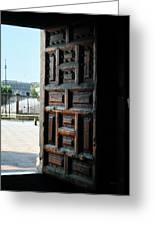 Mexican Door 35 Greeting Card