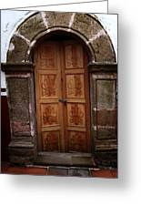Mexican Door 56 Greeting Card