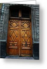 Mexican Door 68 Greeting Card