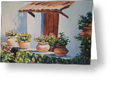 Mexican Pots Greeting Card