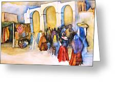 Mexican Prozession Greeting Card
