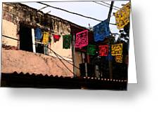 Mexican Street Greeting Card