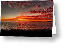 Mexican Sunset Greeting Card
