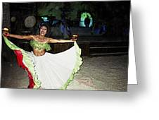 Mexican Traditional Dancer Greeting Card