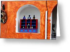 Mexican Wall Niche Greeting Card