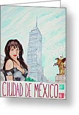 Mexico City 2008 Greeting Card