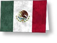 Mexico Flag Greeting Card