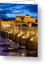 Mezquita Cathedral In Cordoba Greeting Card