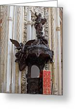 Mezquita Cathedral Pulpit In Cordoba Greeting Card by Artur Bogacki