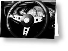 Mg Dashboard Greeting Card