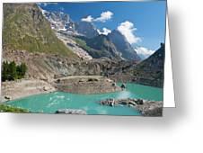 Miage Lake Greeting Card