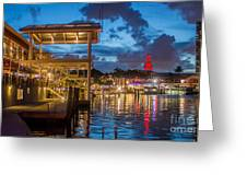 Miami Bayside Freedom Tower Greeting Card